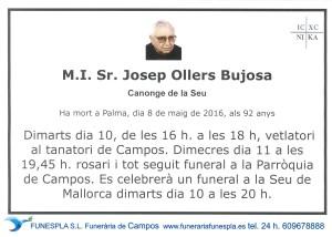 Josep Ollers Bujosa   8-5-2016