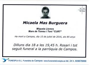 Micaela Mas Burguerra