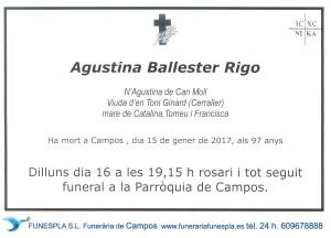 Agustina Ballester Rigo 15-01-2017
