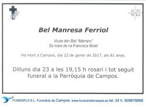 Bel Manresa Ferriol 22-01-2017