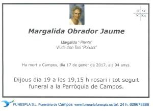 Margalida Obrador Jaume 17-01-2017