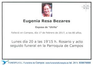 Eugenia Resa Bezares 17-02-2017