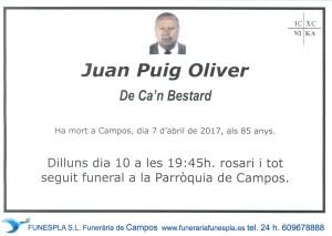 Juan Puig Oliver 07-04-2017