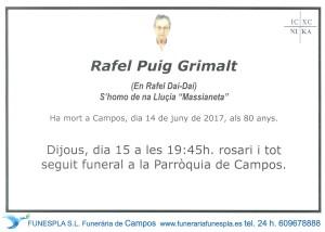 Rafael Puig Grimalt