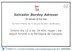 SALVADOR BORDOY ADROVER 11-06-2017
