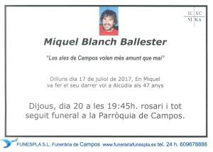 Miquel Blanch Ballester 17-07-2017