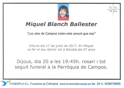 Miquel Blach Ballester   17/07/2017