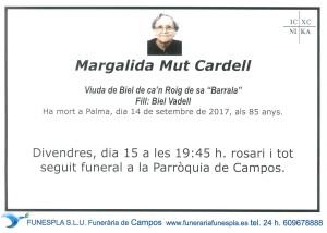 Margalida Mut Cardell 14-09-2017