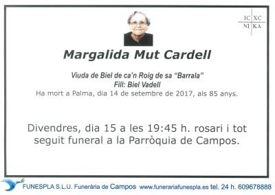 Margalida Mut Cardell   14/09/2017