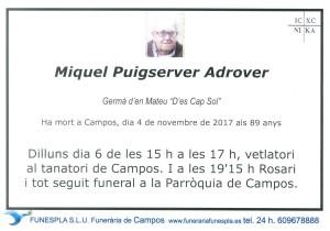 Miguel Puigserver Adrover4-11-2017