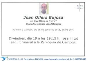 Joan Orell Bujosa 18-01-2018