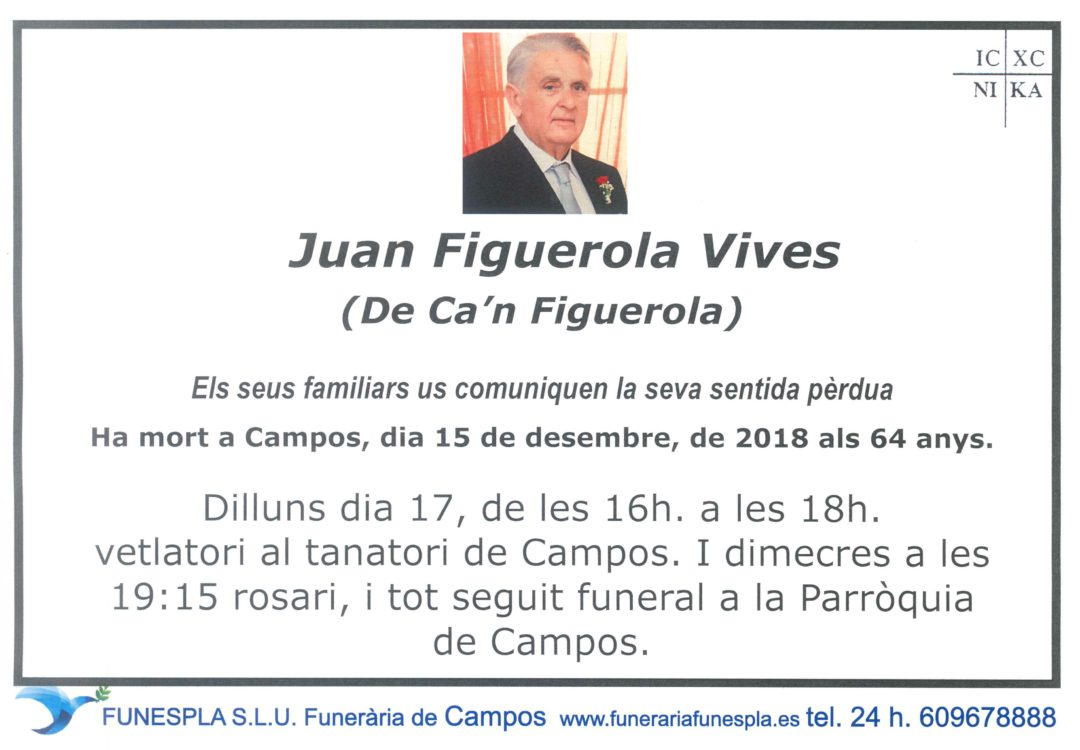 Juan Figuerola Vives  15/12/2018