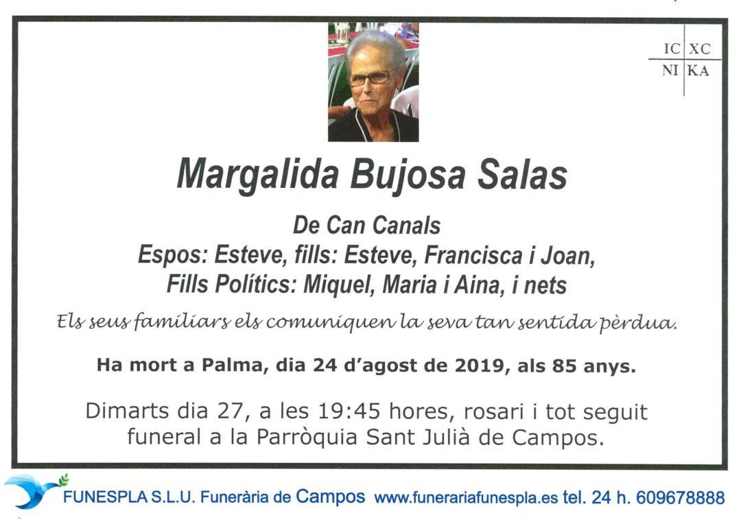 Margalida Bujosa Salas  24/08/2019