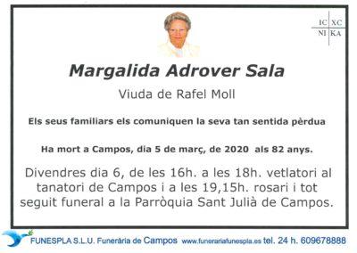 Margalida Adrover Sala  05-03-2020