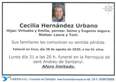 Cecelia Hernández Urbano  28-08-2020