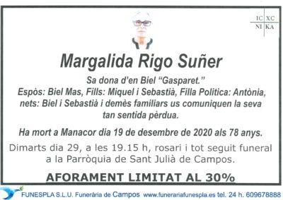 Margalida Rigo Suñer  19-12-2020