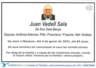 Joan Vadell Sala 04-01-2021