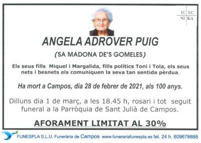 Angela Adrover Puig 28-02-2021