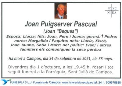 Joan Puigserver Pascual   24-09-2021